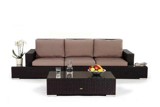 balkon rattan lounge elegant gallery of lounge. Black Bedroom Furniture Sets. Home Design Ideas